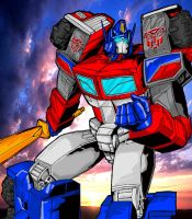 G2 Optimus Prime by Optimus8404
