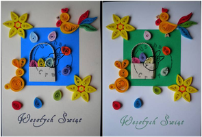 Quilling - card 54a-54b by Eti-chan