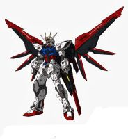 Build Strike Gundam Full Package (Original colors) by CLeRu087