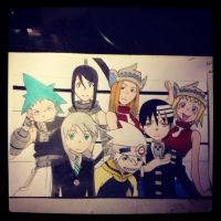 Soul Eater Group by Karina-o-e