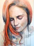 kissed by fire by Anna-Mariaa