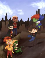 Young Justice by BlackDiamond13