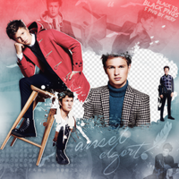 PNG Pack(316) Ansel Elgort by BeautyForeverr