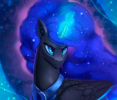Nightmare Moon by Rodrigues404