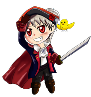 Chibi Pirate Prussia by TealHikari