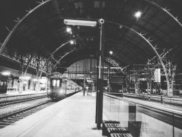 Train station  by Isaaca