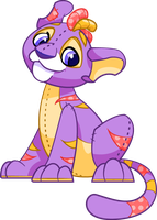 Plushie Kougra by Tibby-Kitty