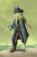Davy Jones by ThePsychoGoat