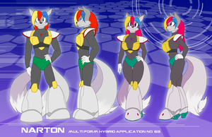 LS-CM, Narton reference (male and female variants) by Toughset