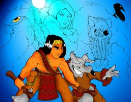 Native American Mythology by Kwikshaw