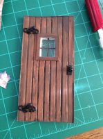 Doll House Door by ArtsyLady