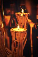 Wine and candles by 88pixels
