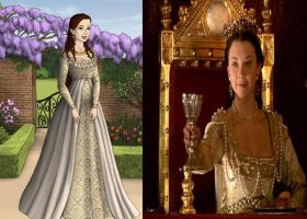 Anne Boleyn's Coronation Gown by Inuyashasmate