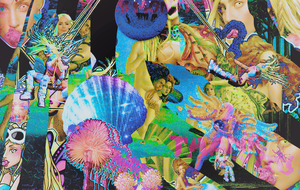 ARtRave Background lady gaga cover by Pr1nc33s