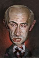 Putin by tomfluharty