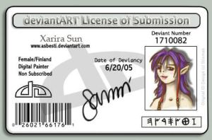 License of Submission by SanniRii