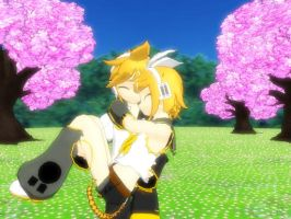 Len Will Carry Rin by rinXlen79
