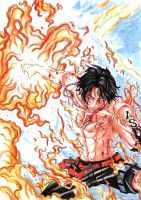 Portgas D. Ace (Update) by Yoite7