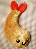Tempura Fried Shrimp Plushie by LiLMoon