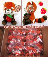 Ponwan Plushie for Sale by celesse