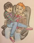Andy and April by DidxSomeonexSayxMad