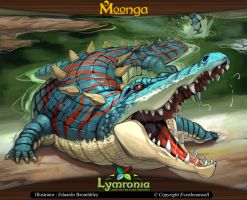 Moonga - Bone Breaker Crocodile by moonga