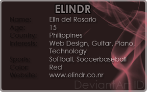 Deviant ID v3 by elindr