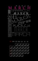 Christmas Calender - March by ValerieChiuh