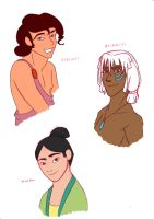 Disney Princes Part 2 by skybluespirit