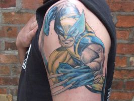 Wolverine Tattoo by Hanged-Dan