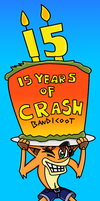 15 YEARS OF CRASH BANDICOOT by ThatNoOdLeguy