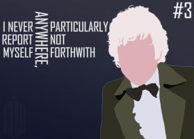 The 3rd Doctor by acm1979