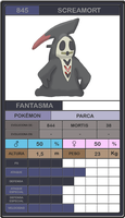 Screamort - fakemon by Cosworth40