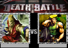 Paul Phoenix VS Guile by VitamineJJC