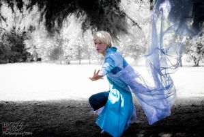 King Elsa Cosplay (Male Version - Elias) - Swirl by DakunCosplay