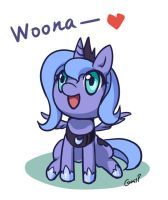 Woona by grasspainter