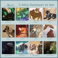 2014 Summary of Art by Hlaorith