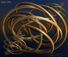Copper Wire by one-tough-one