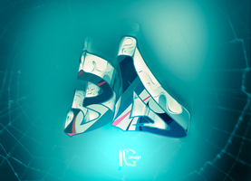 3D logo by IGdeaigner comment and fav by DesIGner-14