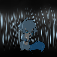 -Vent- Drowning in sorrow by Snowdrop-the-Kitty