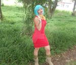 Dragon Ball Z Cosplay. Bulma Briefs by laismirre
