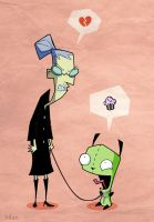 ms Bitters and Gir by kolyabilan