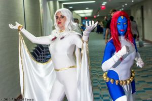 Storm and Mystique 3 by Insane-Pencil