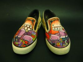 Monster Shoes Version 1 by flyingblind