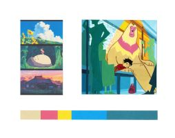Animated film color study by KTKruse