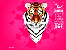 pink-tiger by alpagueur