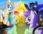 Riding the Storm : The Champions of Equestria by VittorioNobile