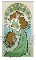 Sketch Nouveau by LadySilverwood