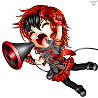Akane Amaya Chibi - Love Is War (Commission) by BethanyFrye