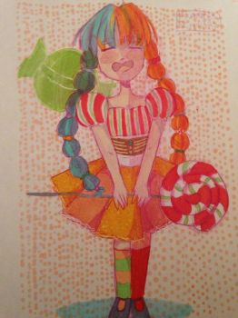 You are my candy girl... by CookiesWithCats